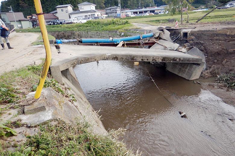 河川の被災状況