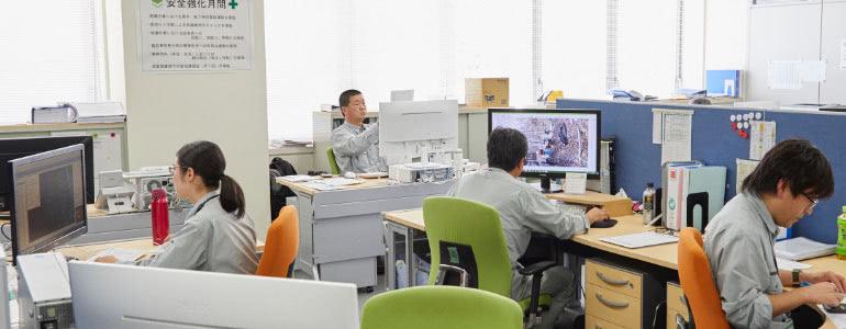 職場環境づくりへの取り組み