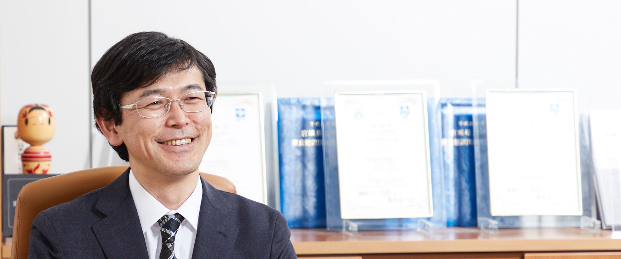 代表取締役社長 辻川 友博